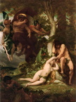 Alexandre Cabanel - Expulsion of Adam and Eve