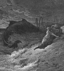 Gustav Dore - Jonah and the Whale