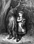 Gustav Dore - Little Red Riding Hood