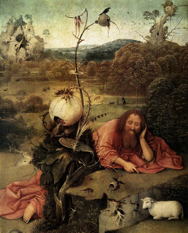 Hieronymous Bosch - St. John In The Wilderness