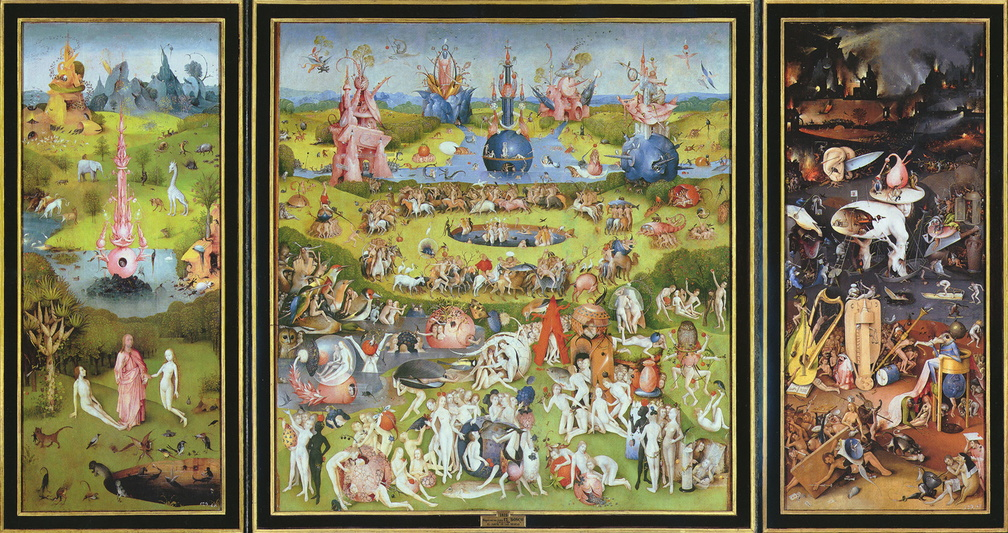 Hieronymous Bosch - The Garden Of Earthly Delights