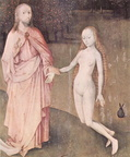Hieronymous Bosch - The Garden Of Earthly Delights Left Detail 1