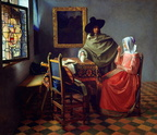 Jan Vermeer van Delft - The Glass of Wine