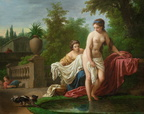 Louis Jean Francois Lagrenee - David and Bathsheba