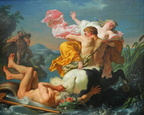 Louis Jean Francois Lagrenee - The Abduction of Deianeira by the Centaur Nessus