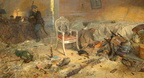 Pavel V Ryzhenko - Triptych The Czars Calvary - Ipatiev House After The Regicide