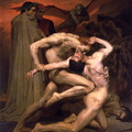 William-Adolphe Bouguereau 1825-1905 - Dante And Virgil In Hell 1850