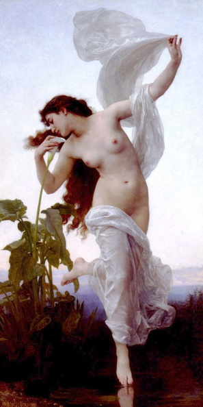 William-Adolphe Bouguereau 1825-1905 - Dawn 1881