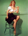 50s pin up Ice Cream issues